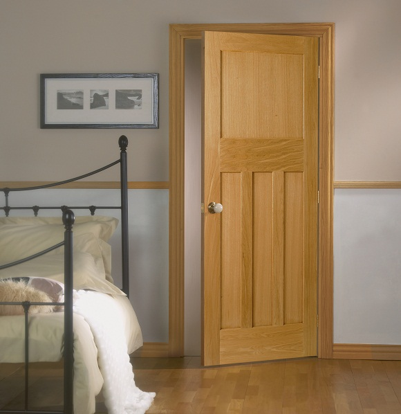 Osmo Door Oil Satin 3060 used on interior oak doors