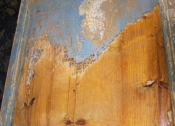 Stripping Paint with Caustic Soda