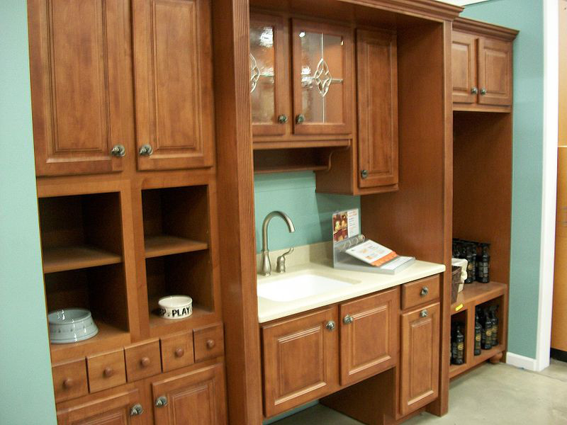 Hdf Wood Kitchen