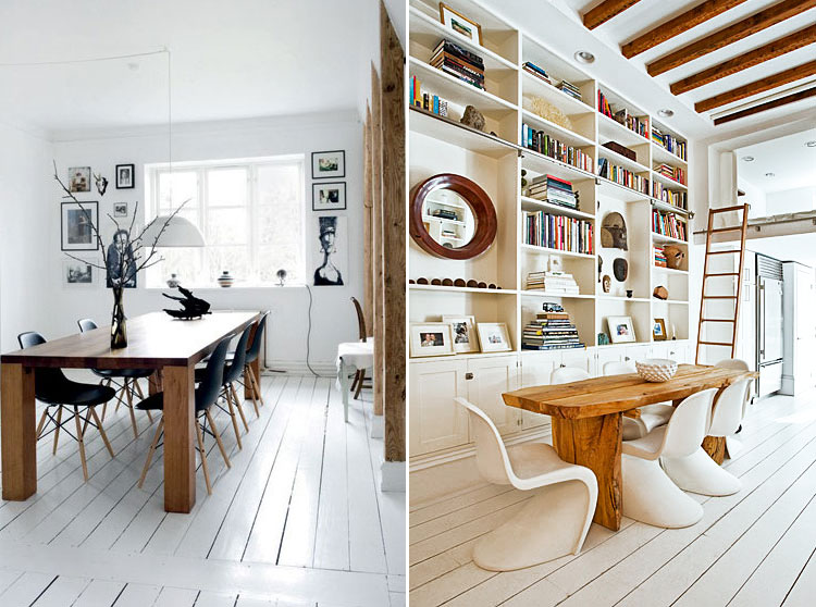 Beautiful White Wood Finishes For Dreamy Interiors Wood