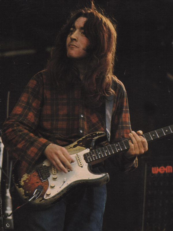 Rory Gallagher and his famous Stratocaster