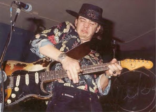 Stevie Ray Vaughan - Iconic Road Worn Stratocaster