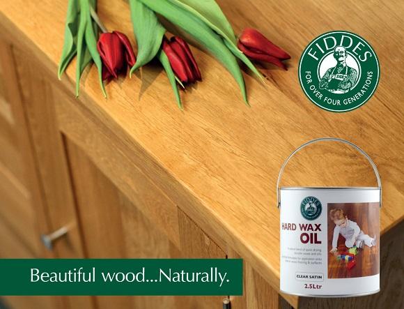 Product Spotlight Fiddes Hard Wax Oil Finish Wood