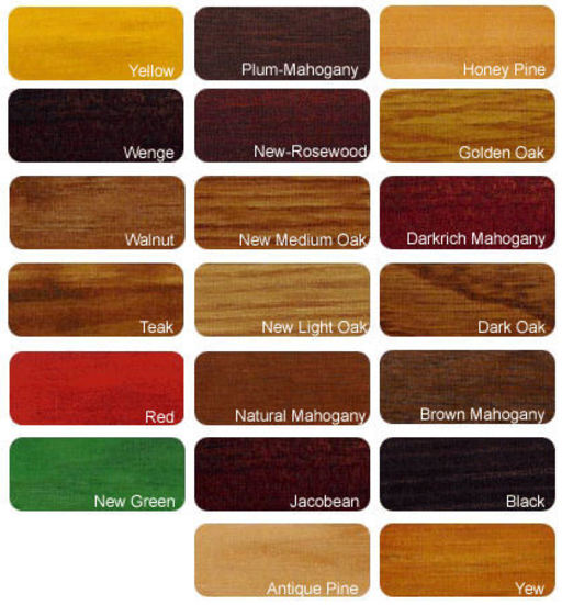 Wood Colours When Is Medium Oak Not Medium Oak