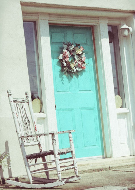 Shabby Chic Front Door