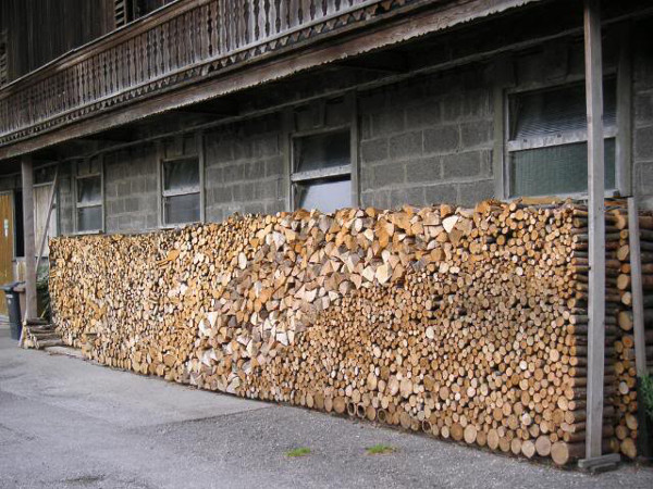 Firewood Stack in Bavaria