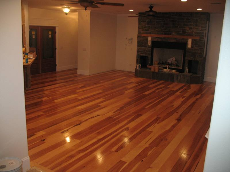 Hickory Hardwood Floor