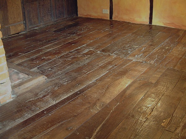 Vintage Oak Floorboards