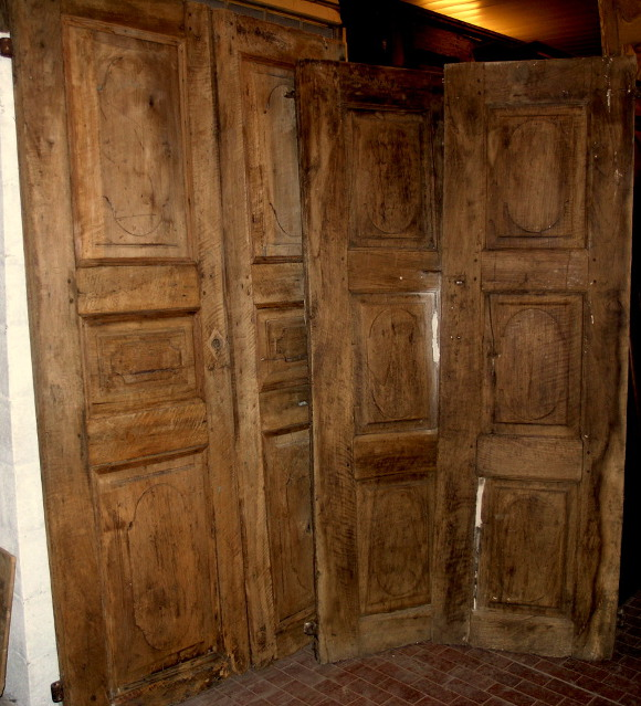 Antique Walnut Interior Doors