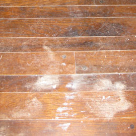 Wood Flooring Varnish Repair