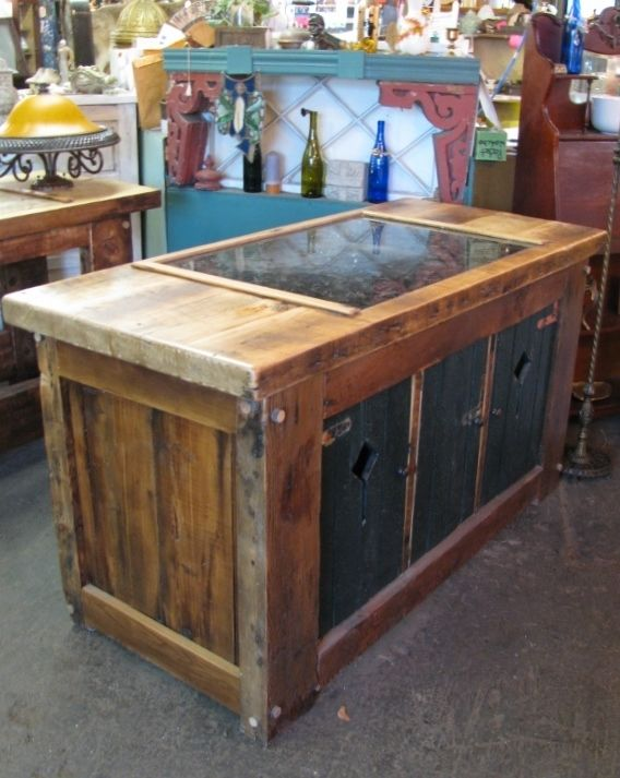 Reclaimed Wood Small Kitchen Table