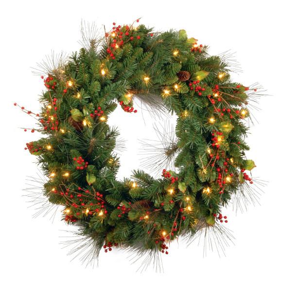 Christmas Wreath Hayneedle Com