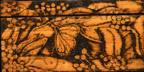 Woodburning pyrography
