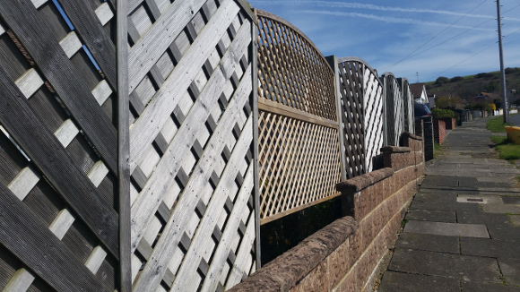 Lattice and Trellis Wooden Fencing