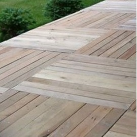 Pallet Decking Without The Spending Pallet Decking Ideas