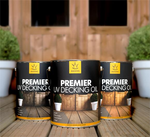 Manns Premier UV Decking Oil