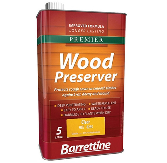 Product Focus Barrettine Wood Preservatives