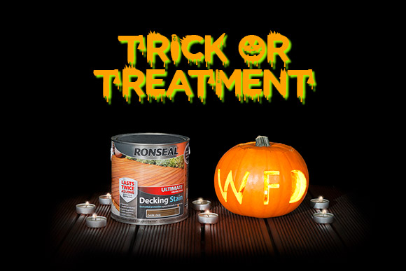 Halloween Ronseal Decking Stain Deals
