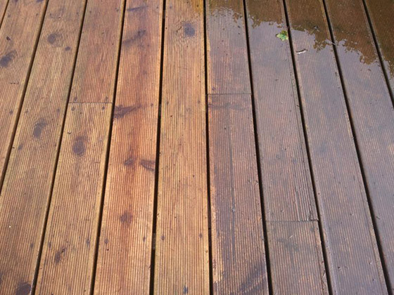 Decking Oil or Stain