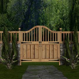 wooden-garden-gate