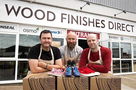 wood-finishes-direct-and-sals-shoes-charity