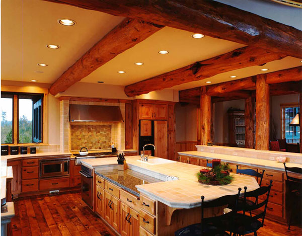 Restored rustic Oak beams