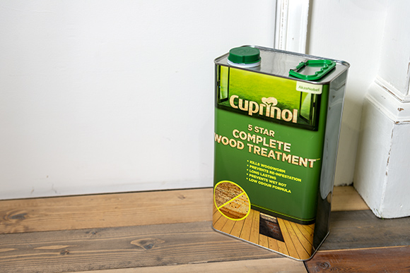 Cuprinol Complete 5 Star Wood Treatment for interior wood