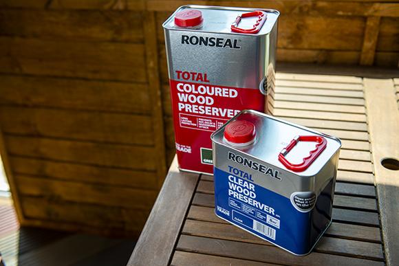 Ronseal Total exterior wood preserver