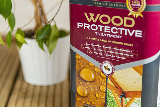 barrettine protective wood treatment safe for bees and other beneficial insects