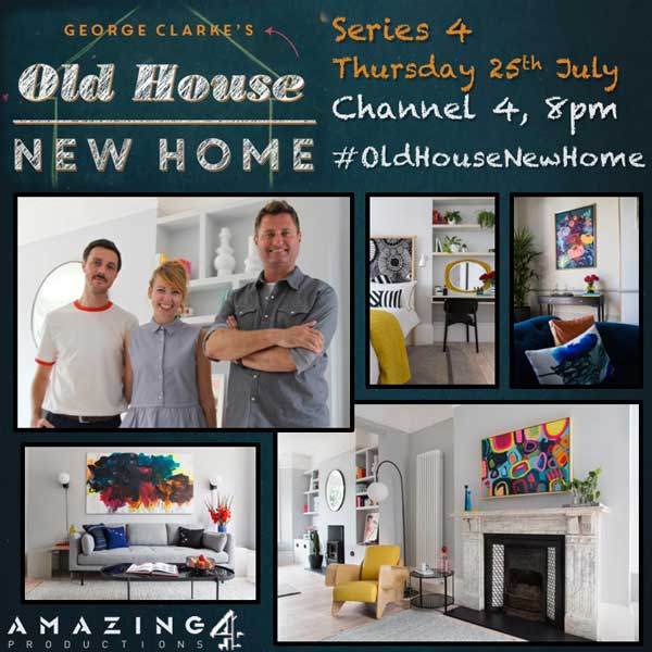 George Clarke's Old House New Home