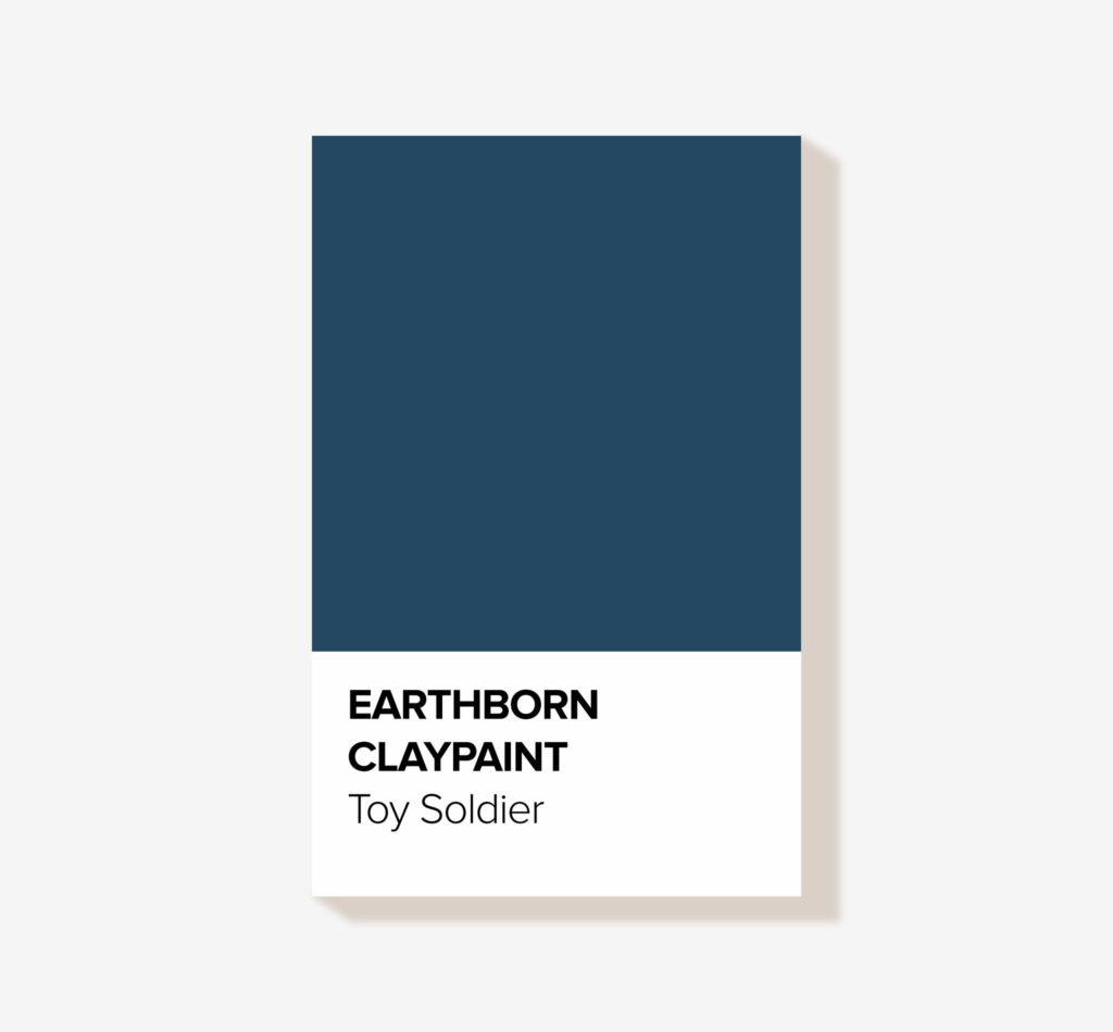 Earthborn Clay Paint 'Toy Soldier' Eco friendly interior paint