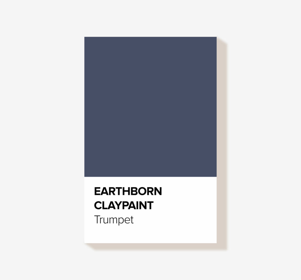 Earthborn Clay Paint 'Trumpet' Eco friendly interior paint