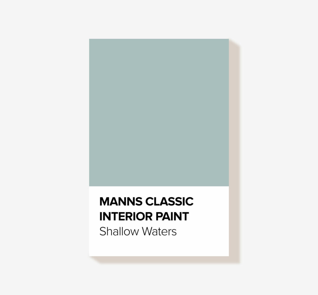Manns Classic Summer 'Shallow Waters' blue Interior Wood Paint