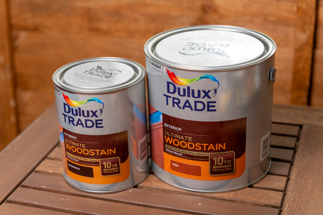 Dulux Trade Ultimate Woodstain at Wood Finishes Direct