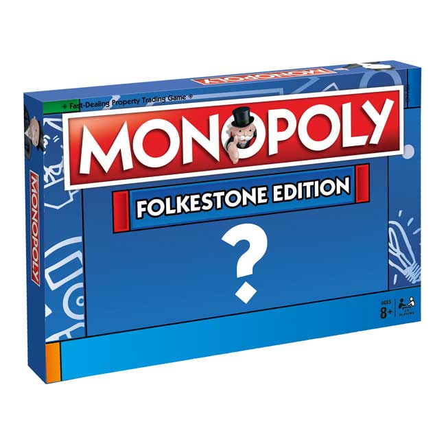 MONOPOLY - Folkestone Edition. Available to order at Wood Finishes Direct