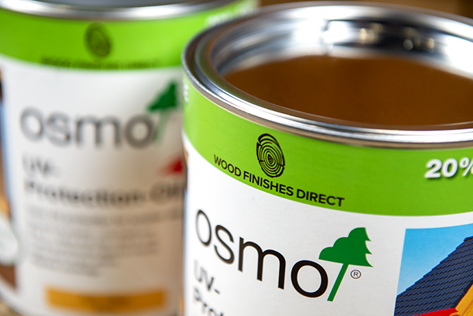 Osmo UV Protection OIl (420) Clear - Promotional 3Ltr Tin Offer at Wood Finishes Direct
