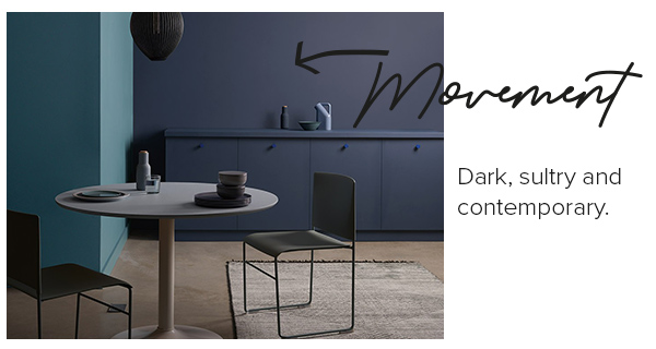 Elle Decoration interior emulsion paint - The Drift collection - Movement.