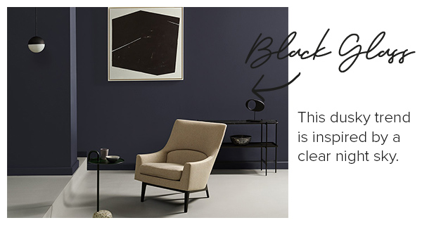 Elle Decoration interior emulsion paint - The Obsidian collection - Black Gloss.
