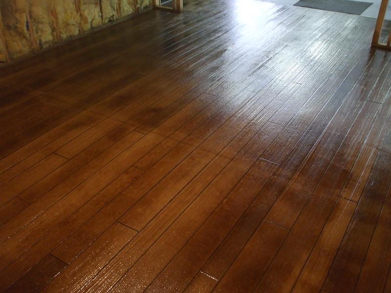 dark-stained-wood