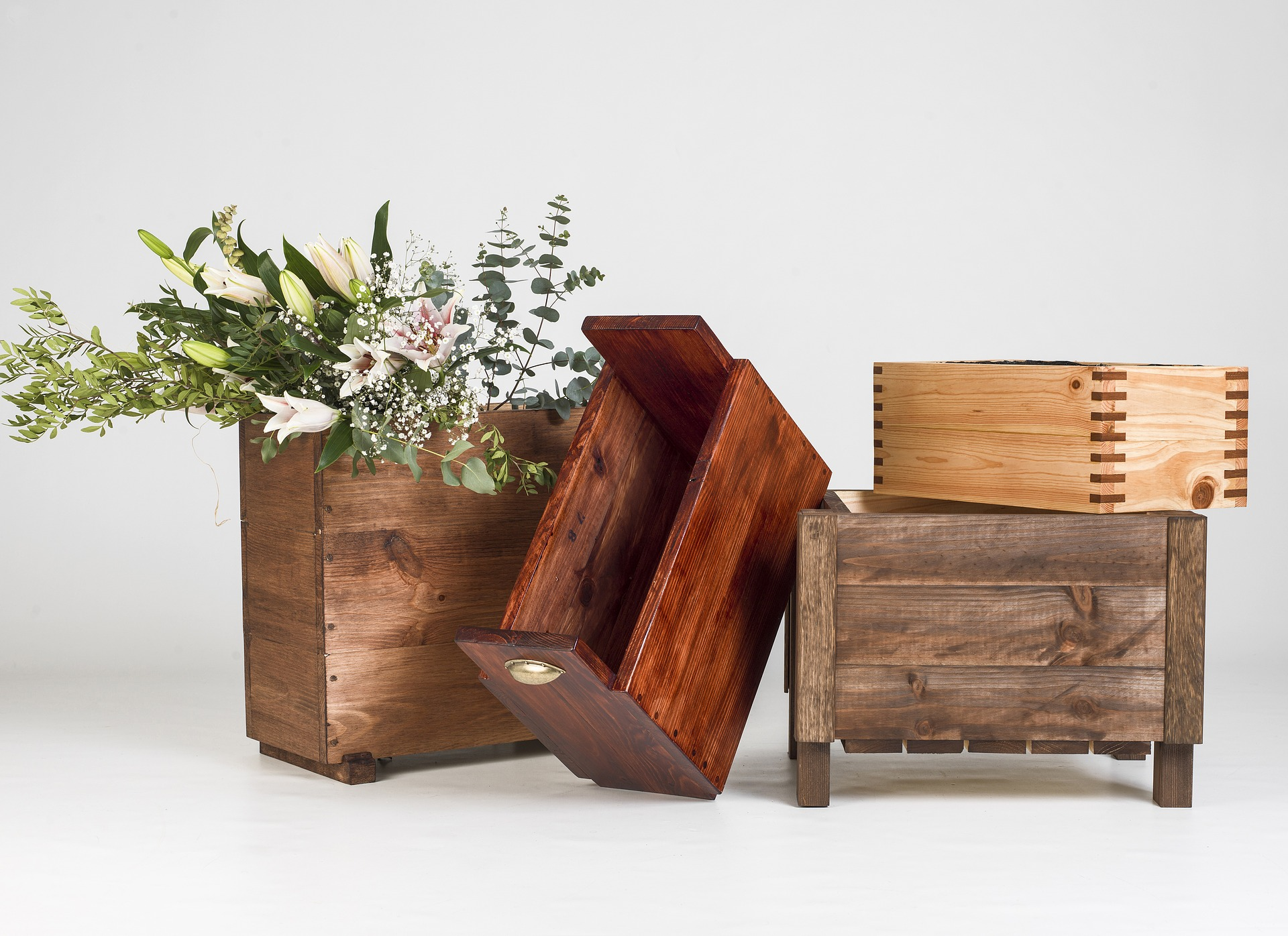 wooden-planters