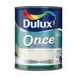 Dulux Once Satinwood