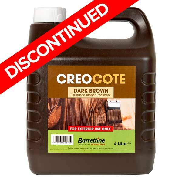 Barrettine Creocote 4l Creosote Substitute For Sheds Amp Fences
