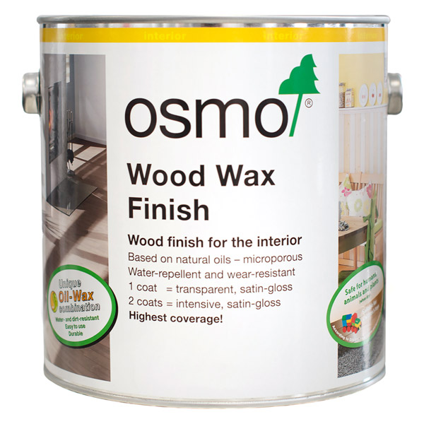 Osmo Wood Wax Finish Transparent Wood Finishes Direct