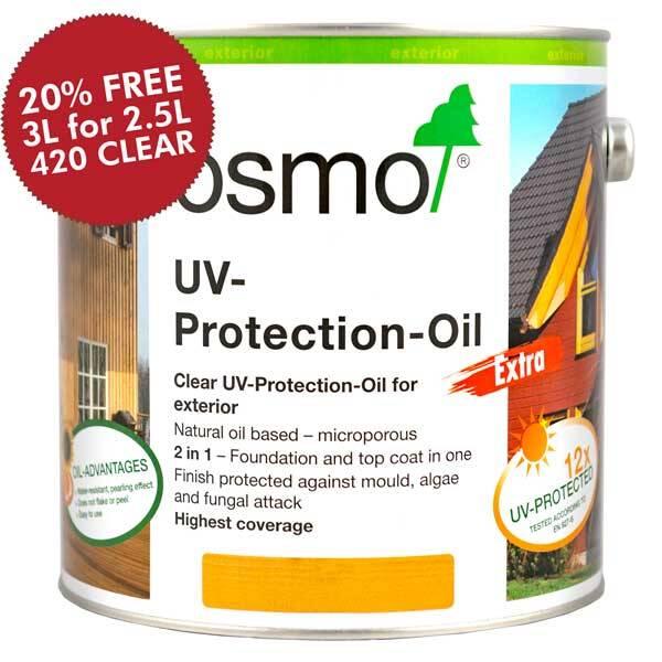 Osmo Uv Protection Oil Extra 420 425 Oak 428 Cedar