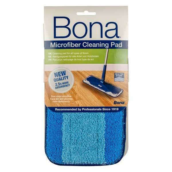 Bona Microfiber Cleaning Pad For Bona Floor Mop Systems