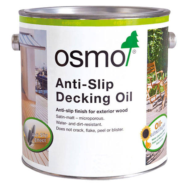 Anti Slip Wood Coating : Osmo anti slip decking oil wood finishes direct