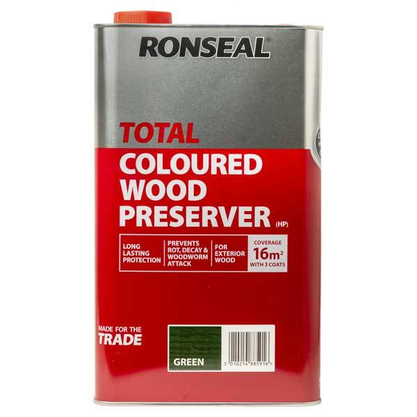 Ronseal Total Wood Preserver Wood Preservative Treatment