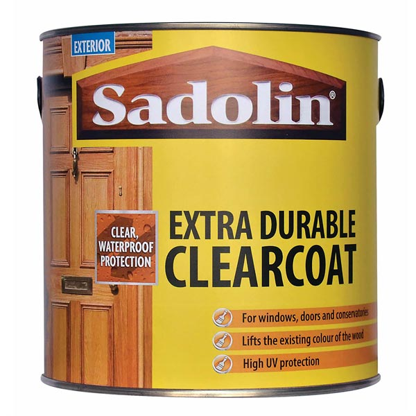 Sadolin Extra Durable Clearcoat Wood Finishes Direct