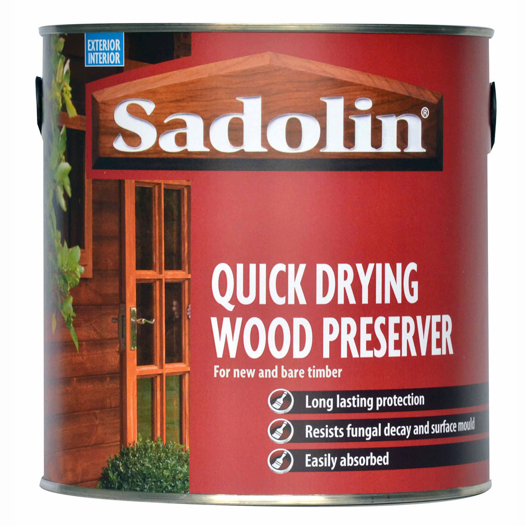 Amazing Image Is Loading Sadolin Quick Drying Wood Preserver 2 5L FREE