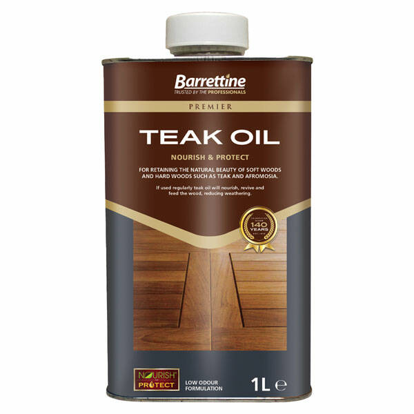 Barrettine Teak Oil Teak Oil Finish For Garden Furniture